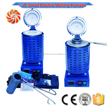 1kg Portable tin melting furnace with crucible and crucible tong