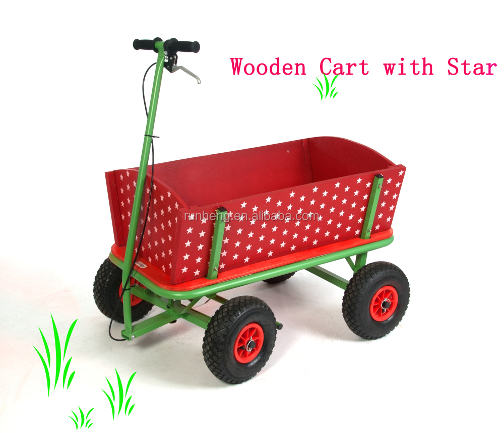 Garden Kids Wooden Tool cart