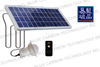 New Upgraded indoor led solar lamp 5W