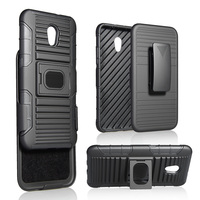 Swivel Slim Belt Clip Holster Armor Protective Case Cover for Huawei P9lite 2017/P10lite