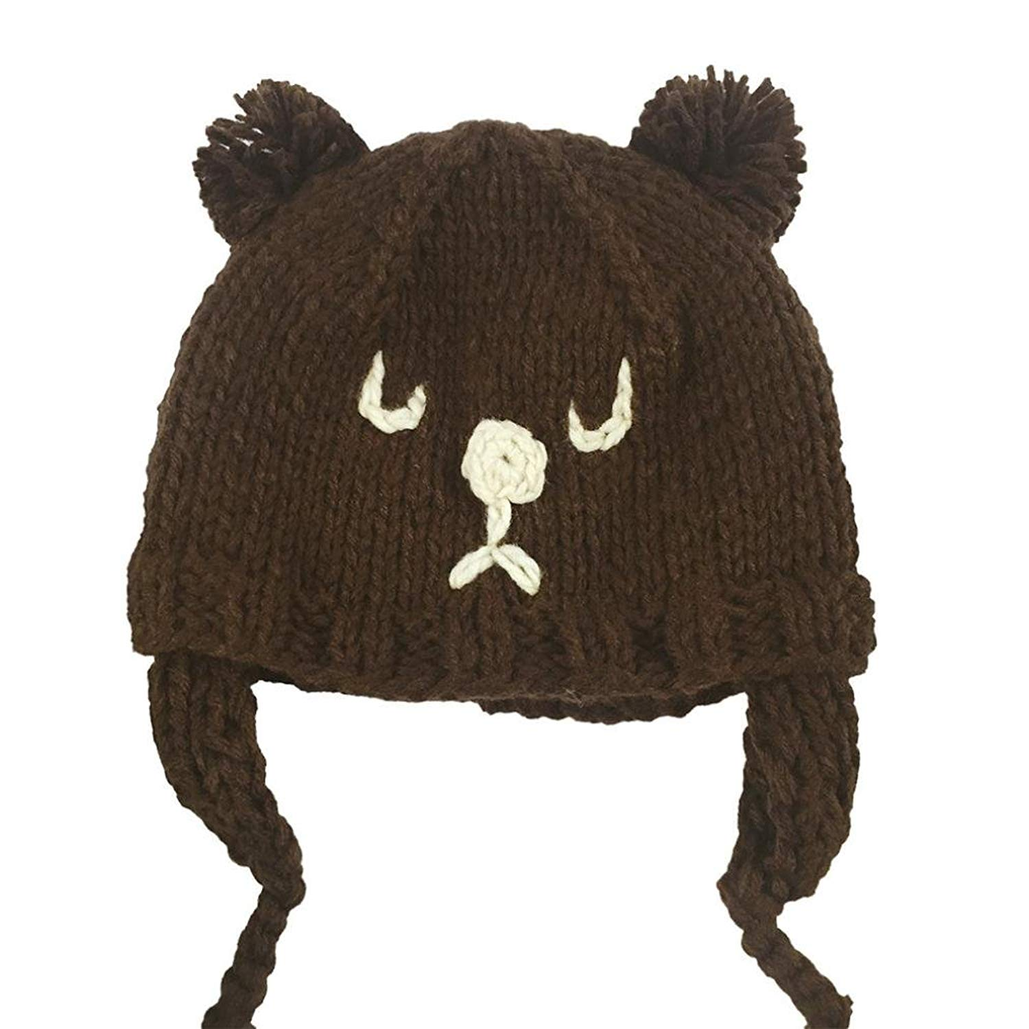 Accessories Nihao Baby Hat Ears Toddler Infant Girls Boys Cat Bear Ear Hat Beanie Cap