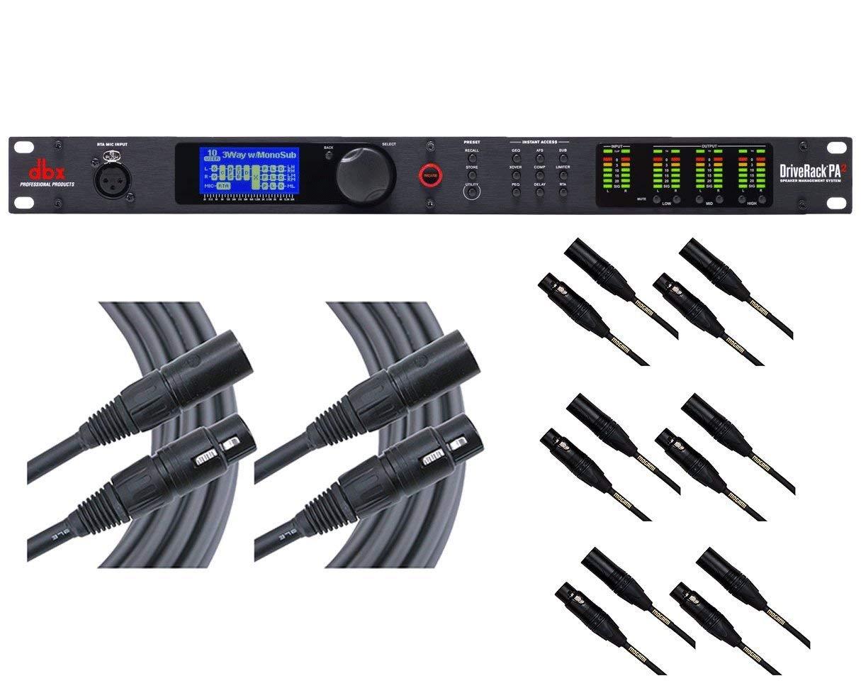 RTA-M dbx DriveRack VENU360 2x Mogami 6 and 6x 20 Cables