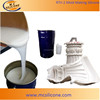 High strength liquid silicone compound for plaster products/Gypsum molding silicone rubber/White silicone