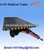5-10T High quality car hauler trailer