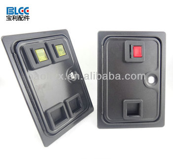 Dual american style coin door with microswitch for arcade cabinet/casino machine/slot game  sc 1 st  Alibaba & Dual American Style Coin Door With Microswitch For Arcade Cabinet ...