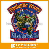 fantastic fours cartoon logo embroidery patch