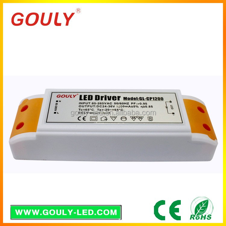 Competitive NEW products slim led constant current driver IP20 china supplier 24v 45w led power supply with CE