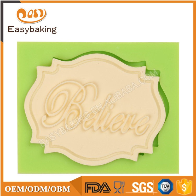 ES-6103 Fondant Mould Silicone Molds for Cake Decorating