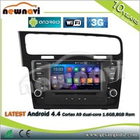 Latest android 4.4 cortex a9 dual-core 1.6GB,8GB Rom car gps navigation