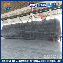 Big Natural Rubber Marine Salvage Airbag Float Tube