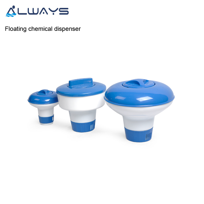 Automatic floater chlorine tablet floating chemical dispenser for swimming pool
