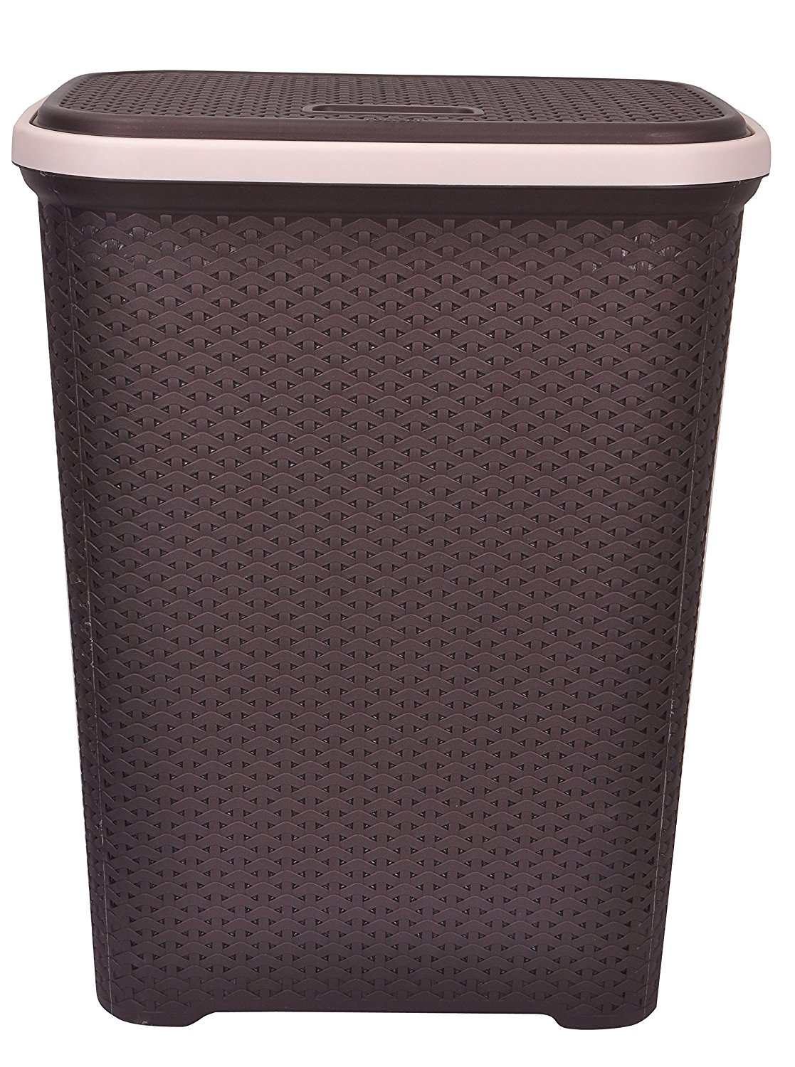 Get Quotations Polyset Laundry Basket With Lid For Clothes Size
