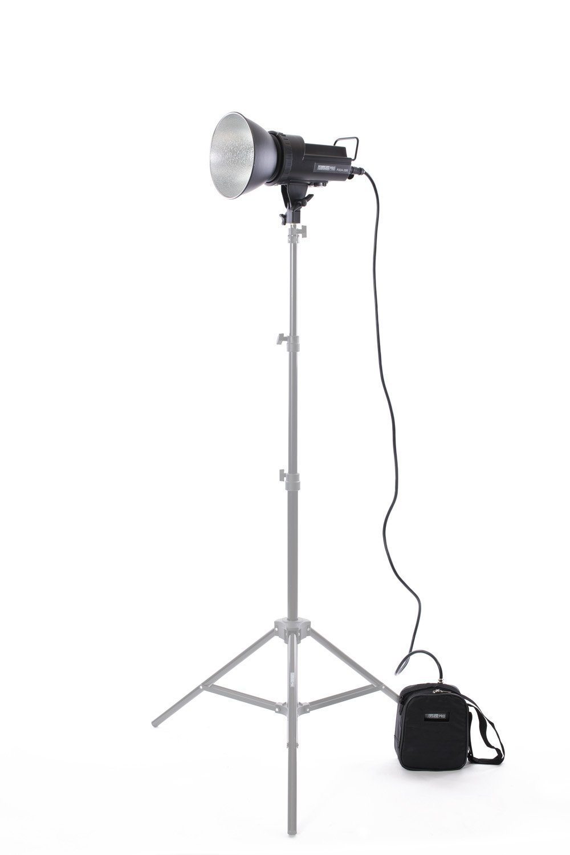 StudioPRO 300W/s AC/DC Dual Power Portable Battery Monolight Strobe Flash Kit