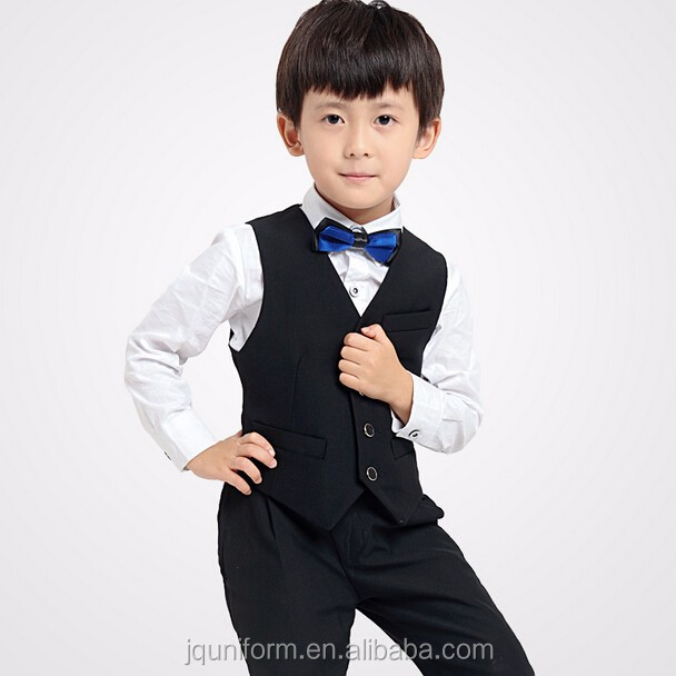 Kids Clothes Formal Business Pullover Suit,Boys Clothing Set,3pcs ...