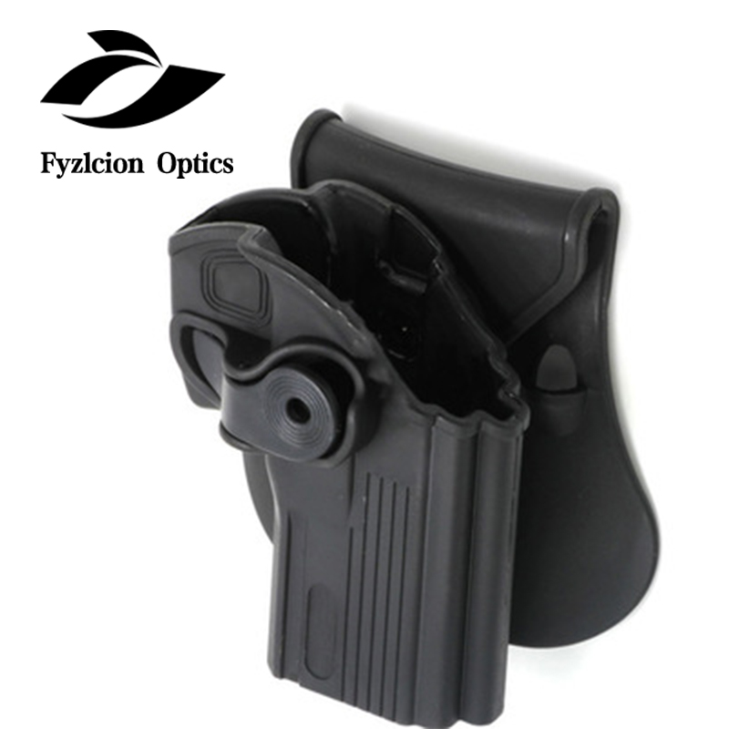 Tactical Waist Fast Punch Set CS Field Hands IMI Rotating Plastic <strong>Gun</strong> Holder Pistol <strong>Holster</strong> Right Hand <strong>Holster</strong> For Taurus 24/7