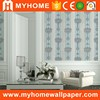 China Vinyl Coated Wallcovering Hotel Room Wallpaper