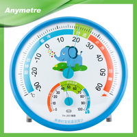 ABS plastic desktop thermometer accept OEM ODM