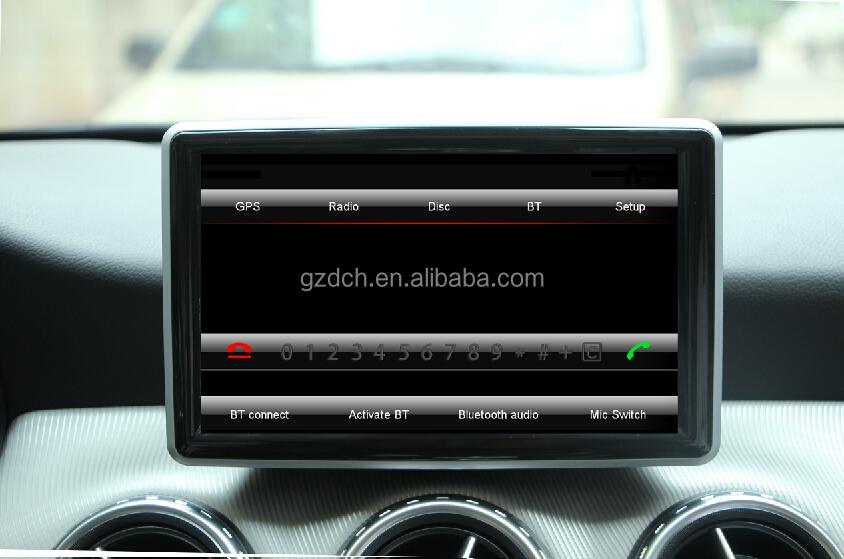 Car Radio Dvd Capacifive Touch Screen 1024x600 For Mercedes Ben A B Cla Gla  G Original Car Ui Mirror Link Ws-8848 - Buy Car Radio Dvd,Car Dvd Player