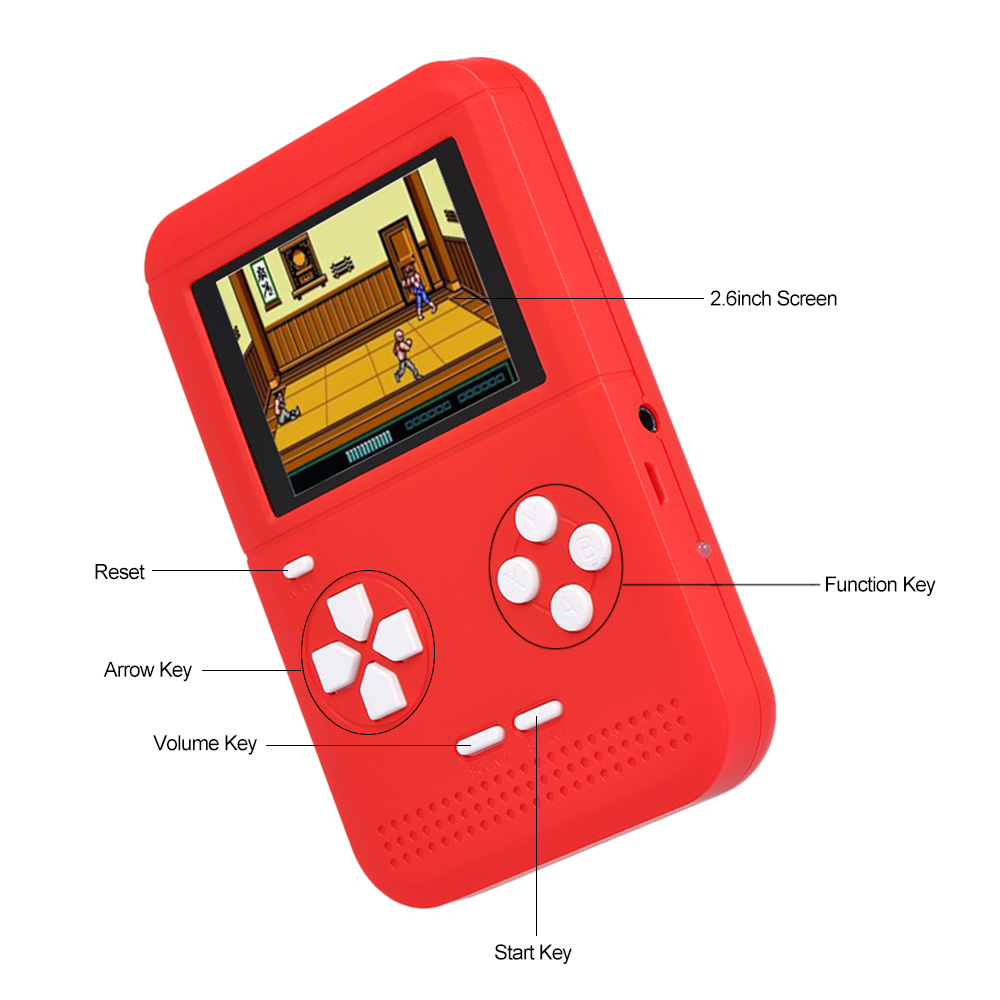 300 in1 2.6inch  game system portable handheld video game console