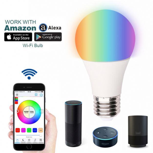 Hot Selling 9w 10w 12w Led Bulb Lamps No Hub Zigbee Light Link Bulb on status light, loop light, top light,