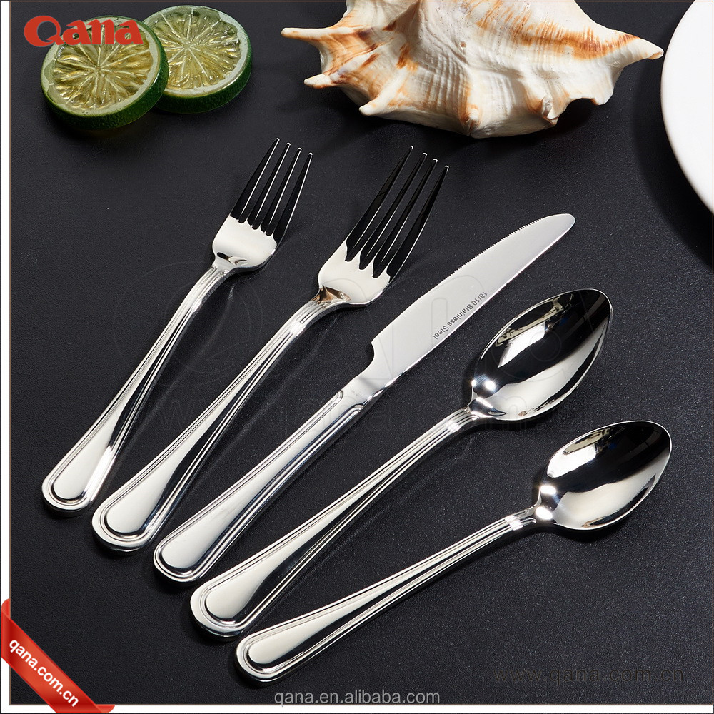 2018 Mirror polished 18 10 stainless steel flatware for wholesale alibaba