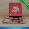 fancy small christmas designed beautiful colorful paper gift boxes