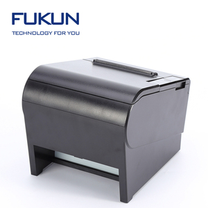 80mm POS thermal Receipt Printer with imported printer head and auto cutter