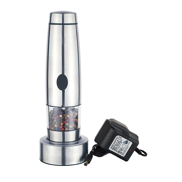 electric pepper mill rechargeable salt and pepper grinder