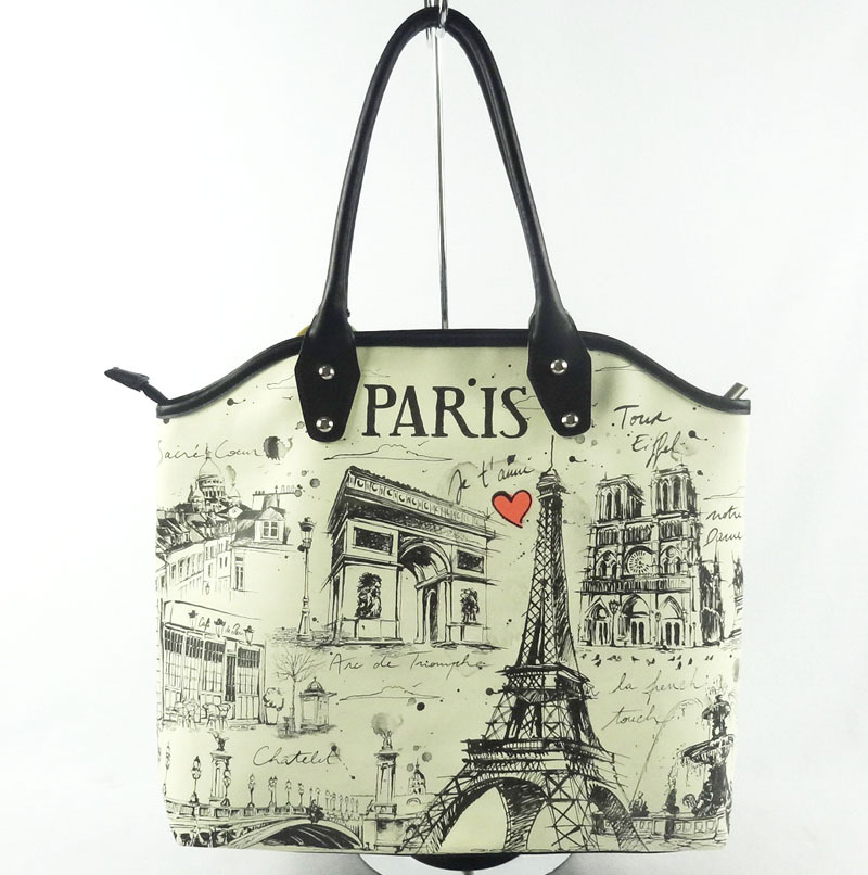 france market fashion souvenir paris tote bag buy tote bag paris tote bag fashion tote bag. Black Bedroom Furniture Sets. Home Design Ideas