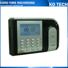 card time attendance with optional HID Reader and Mifare Reader.SDK available