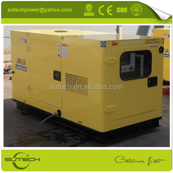 Factory price 35Kva genset, powered by Cummins 4BT3.9-G1/2 engine