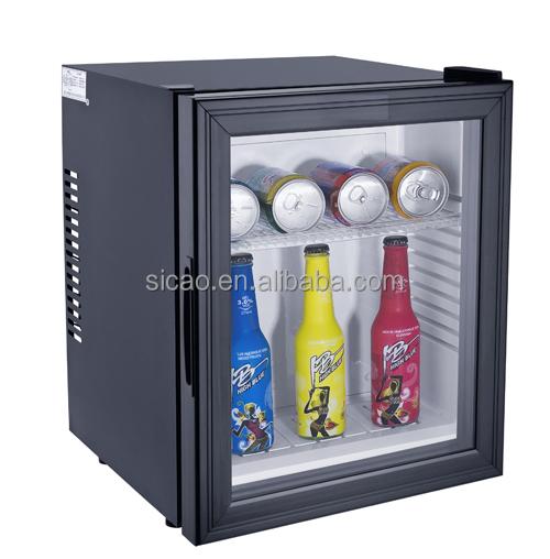 28l Mini Bar Fridge With Glass Door For Commercial Buy Hotel Mini