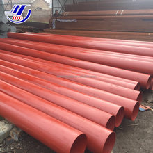 Tianjin Qunshengda ASTM A53 SCH 40 GR.B Red Painted Groveed Ends Fire Protection 3 Inch ERW Iron/ Steel Pipe