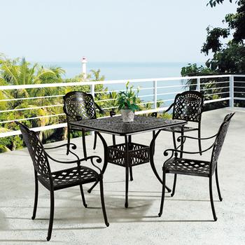 Solid Aluminum Patio Furniture Cast Outdoor