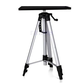 Superb Portable Height Adjustable Tripod Floor Base Projector Stand With Pallet