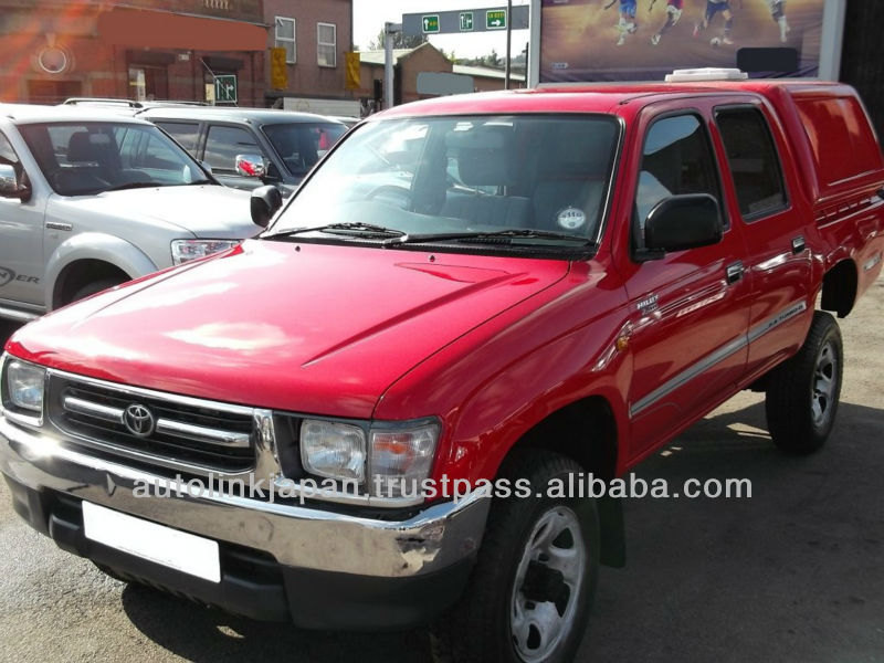 2001 toyota hilux double cabine pick up 4wd turbo ex 2 5 rouge 20337sl voiture d 39 occasion id. Black Bedroom Furniture Sets. Home Design Ideas