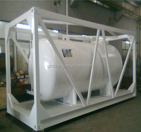 Factory price high quality above ground oil/fuel/petrol/ storage tank with external protective stand