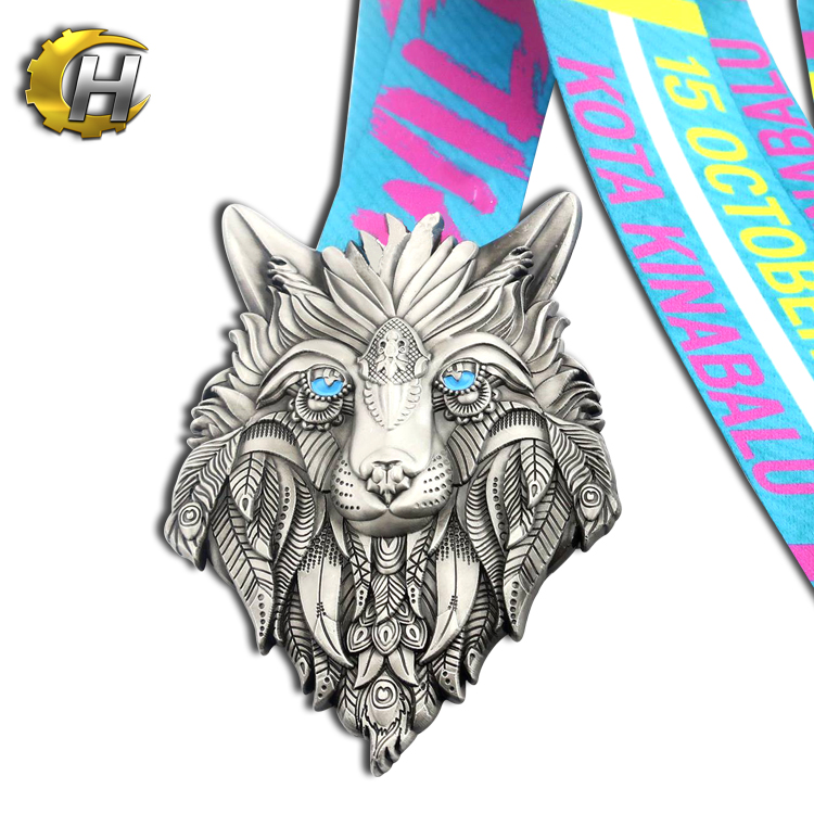 Hot sale custom Soft Enamel Metal Medal design running sport medal