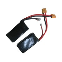Rc air plane lipo battery1300mah 3S1P rc helicopter battery