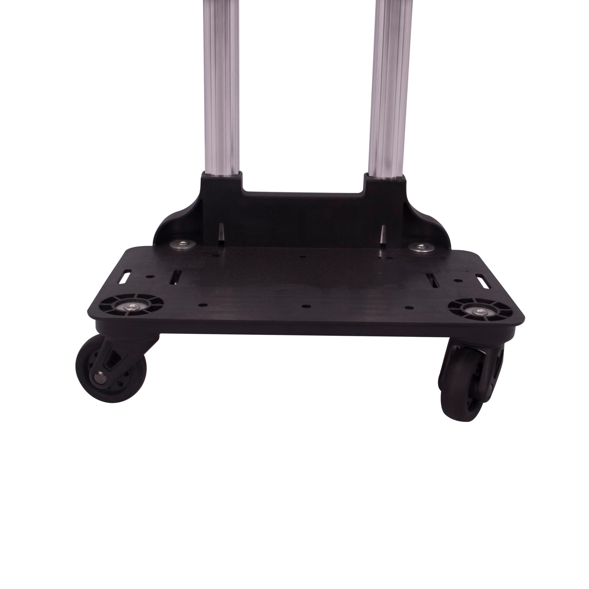 Aluminum pull handles for trolley