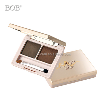 Double Color Eyebrow Powder Long Lasting Waterproof