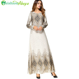 Modest fashion dubai fancy dresses muslim 2018 abaya muslim women wear