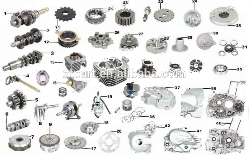 Motorcycle Motor Parts : Chinese motorcycle wy kingbird sanya