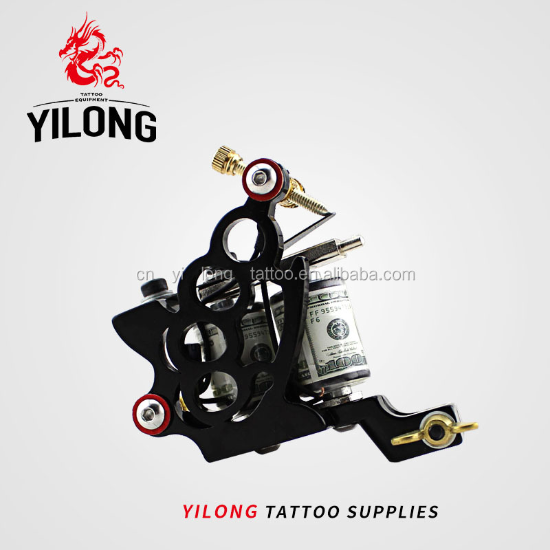 YILONG  Knuckles Professional Tattoo Coil Machine for Body Tattoo