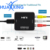 HDMI to AV Converter Composite 1080p HDMI to 3 RCA Audio Video AV CVBS Adapter HDMI 2 AV Converter Supports PAL/NTSC for HDTV DV