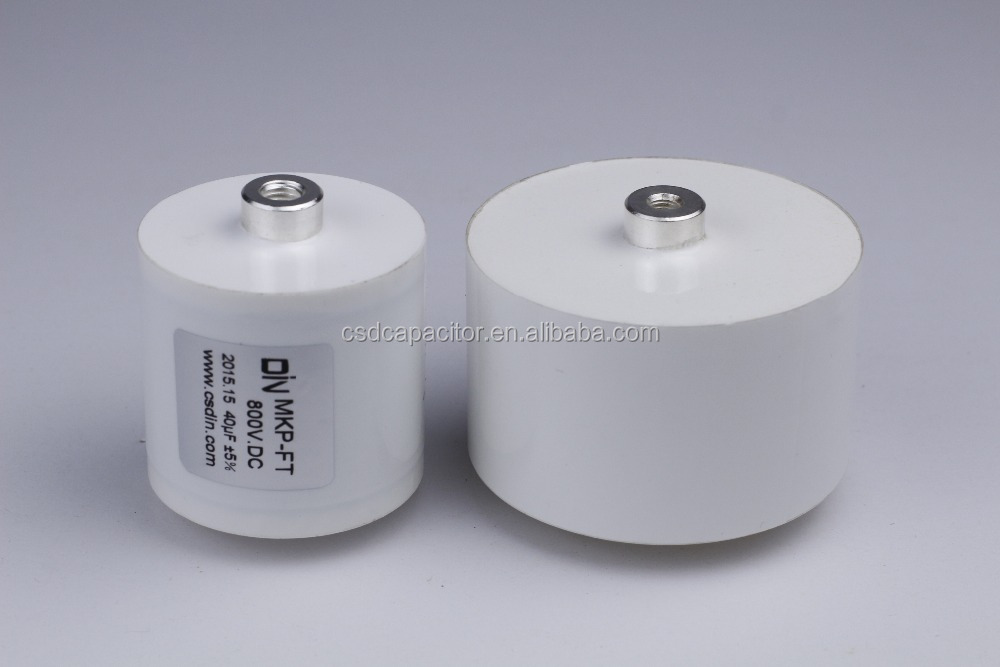 [Capacitor For welding machine]20uF 60uF 100uF 800V DIN film capacitor dc link capacitor MKP-FT