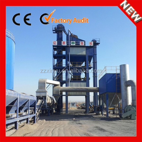 China Hot Ready Mixed Asphalt Plant 80TPH