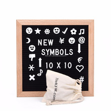Wholesale home decoration magnetic felt letter boards for children