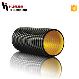 JH0598 drainage pipe prices size corrugated hose in inches hdpe dwc pipe