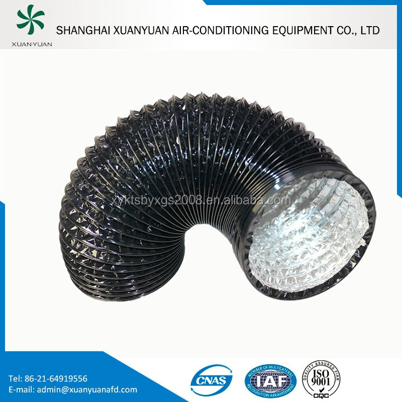 2016 Non-insulated aluminum flexible ducting hose for roof ventilation system